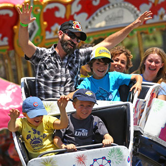 Smiling at California Carnival Company